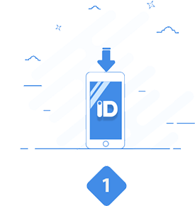 Step 1: Download the ID123 App