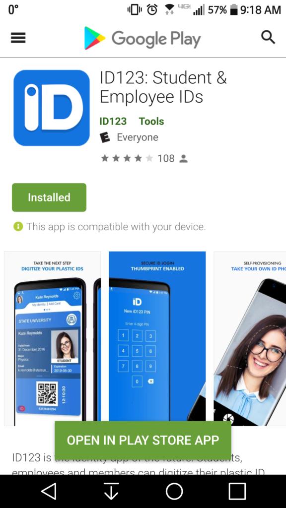 Google Play store screenshot