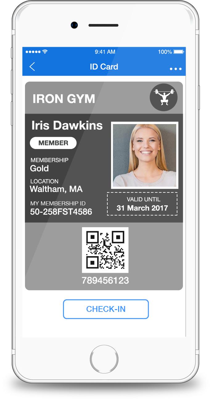 Digital Membership ID Cards