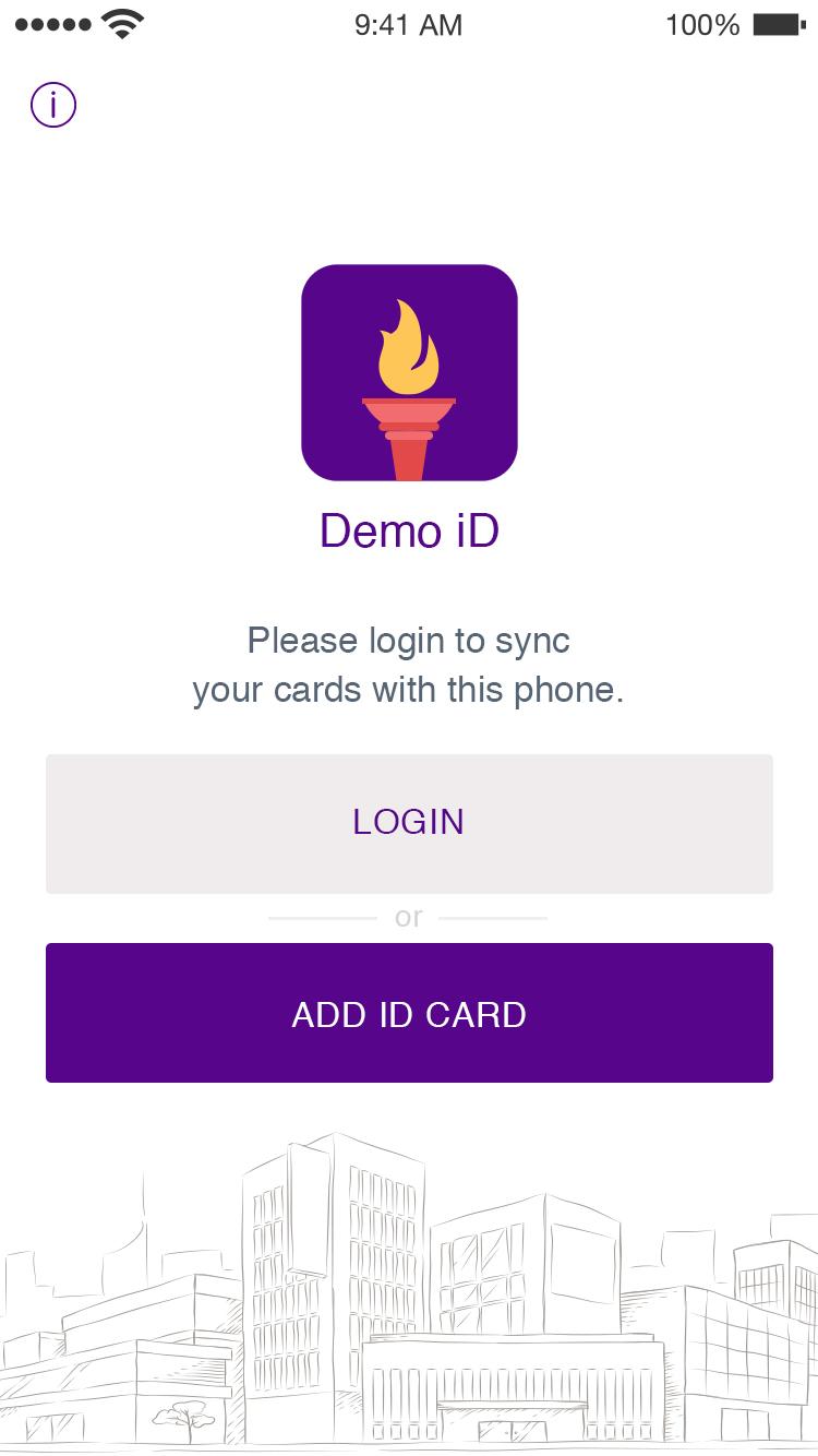 Student ID App - Login