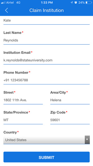 Fill Out the Form Field With Your Current ID Card Data