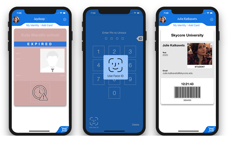 Id Apple Code39 Expiration Barcodes And Card Face Id