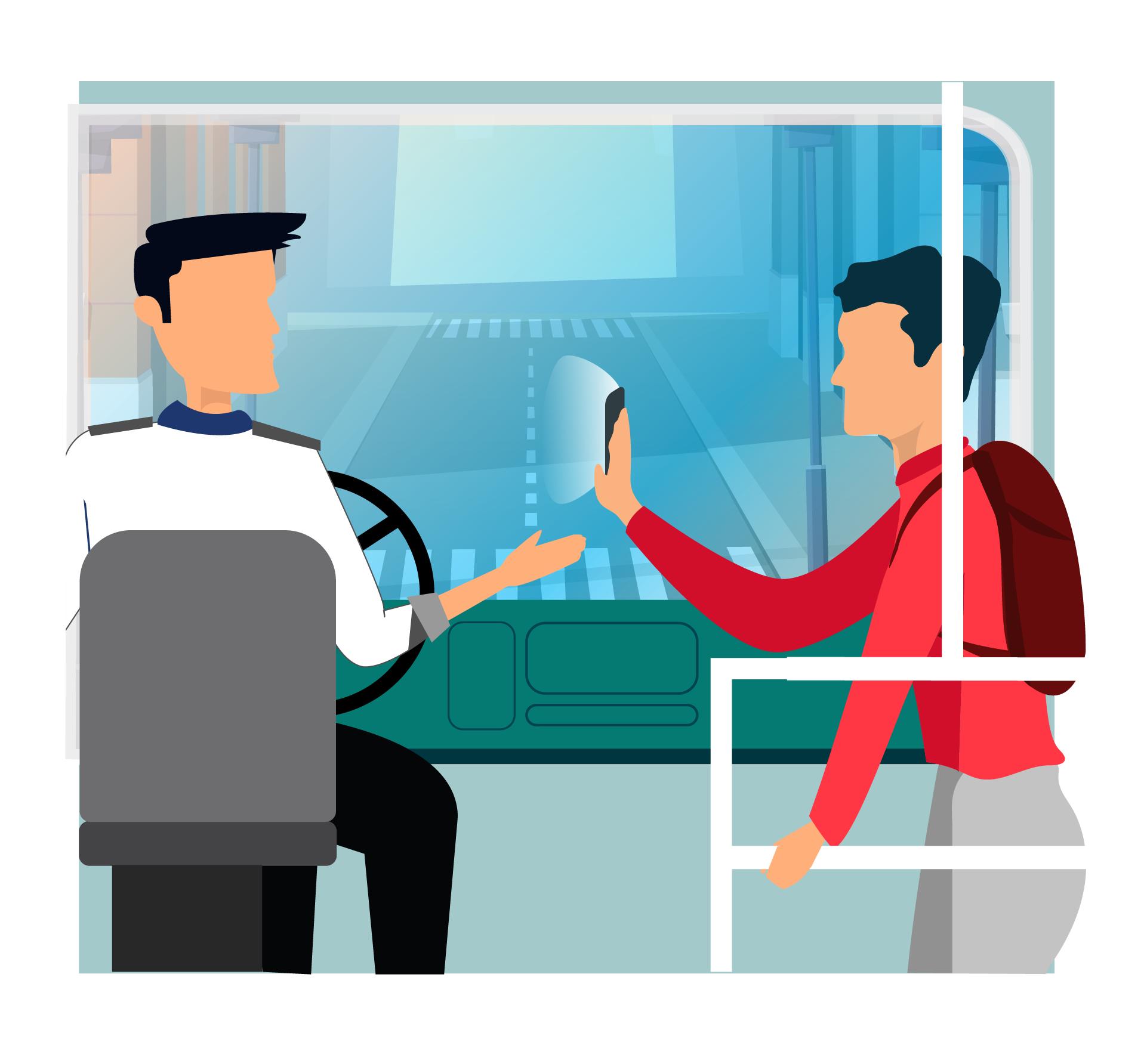 Digital Bus Passes