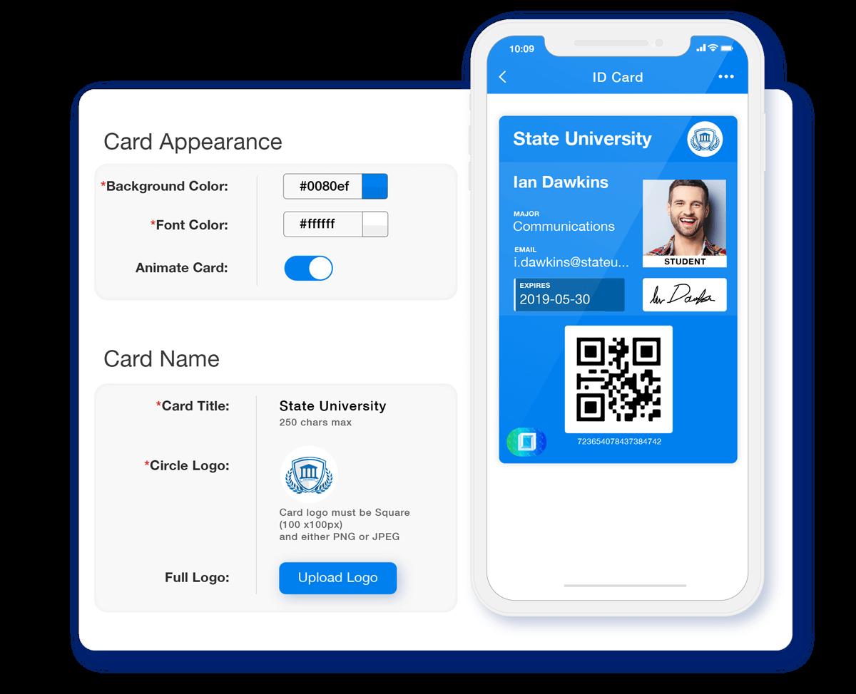 Personalized Digital ID Card Designer