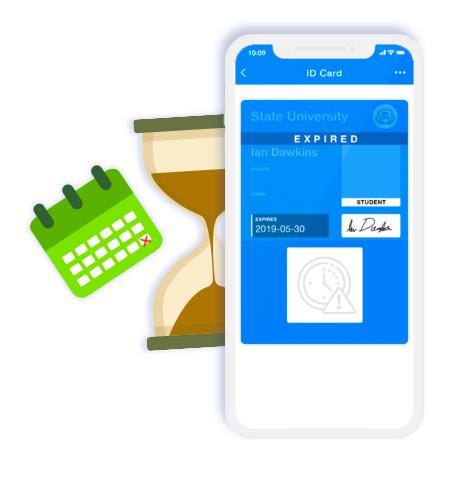 Temporary Digital ID Cards