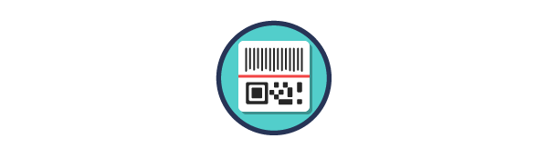 Built in barcode scanner ID feature
