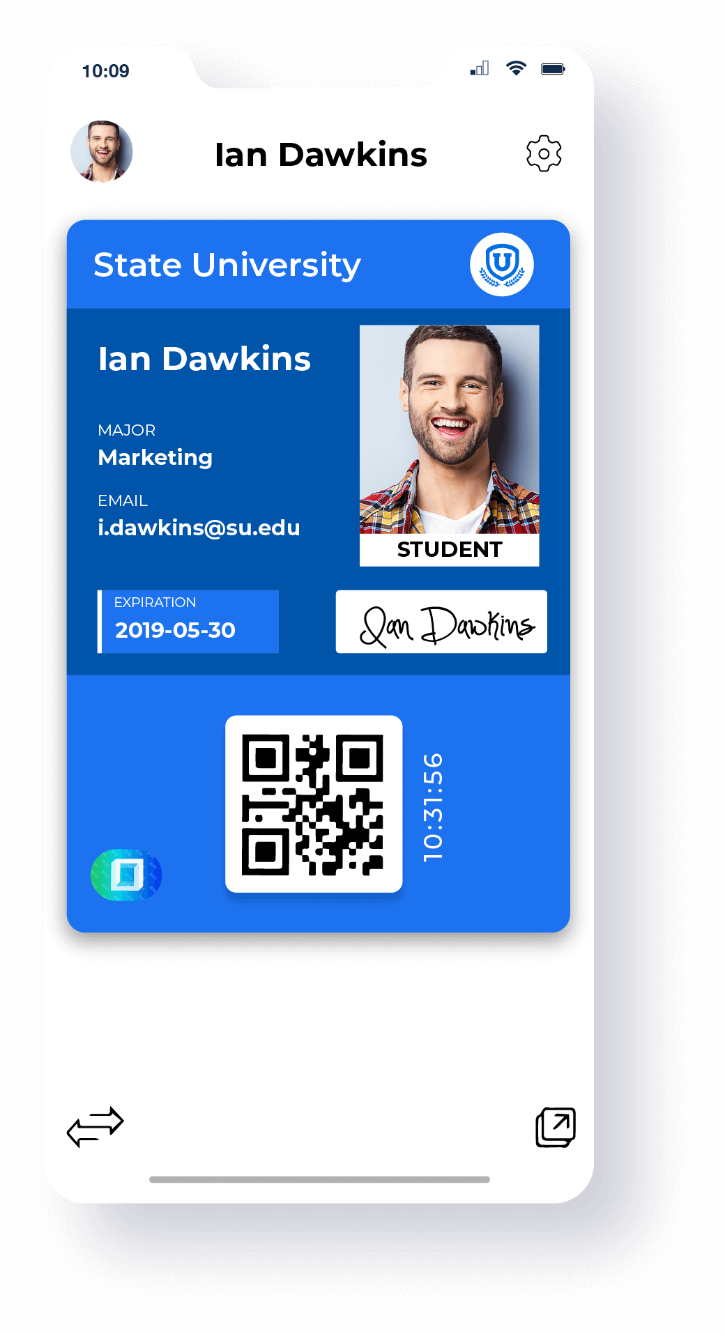 Digital ID card app