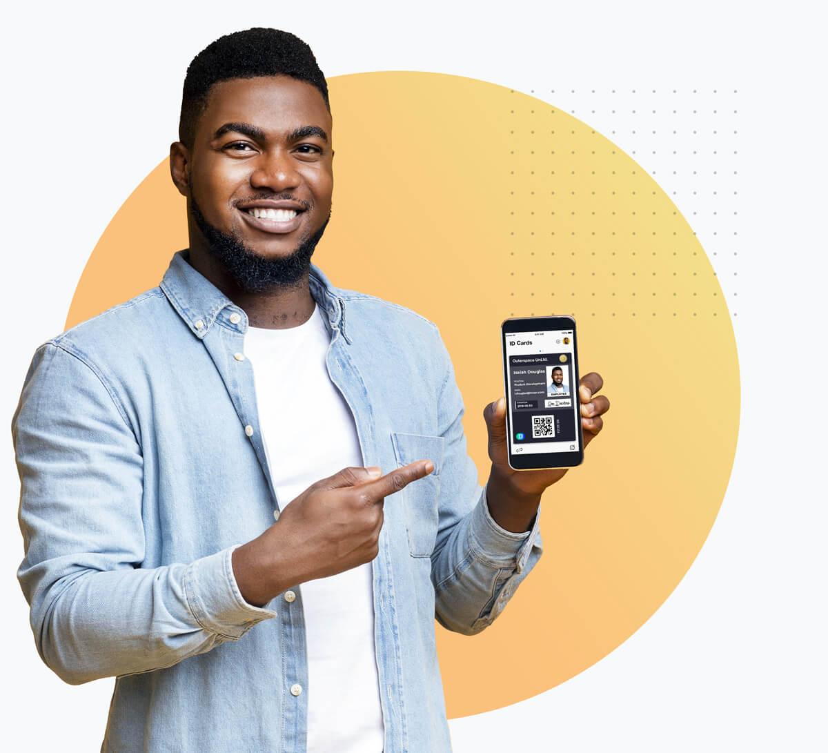 Digital Employee ID Card