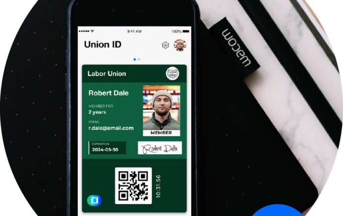 union id cards feature