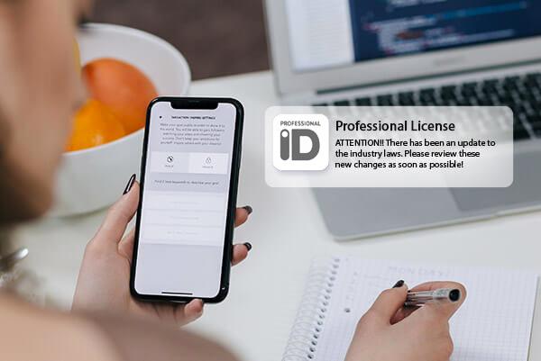 Professional ID Notifications