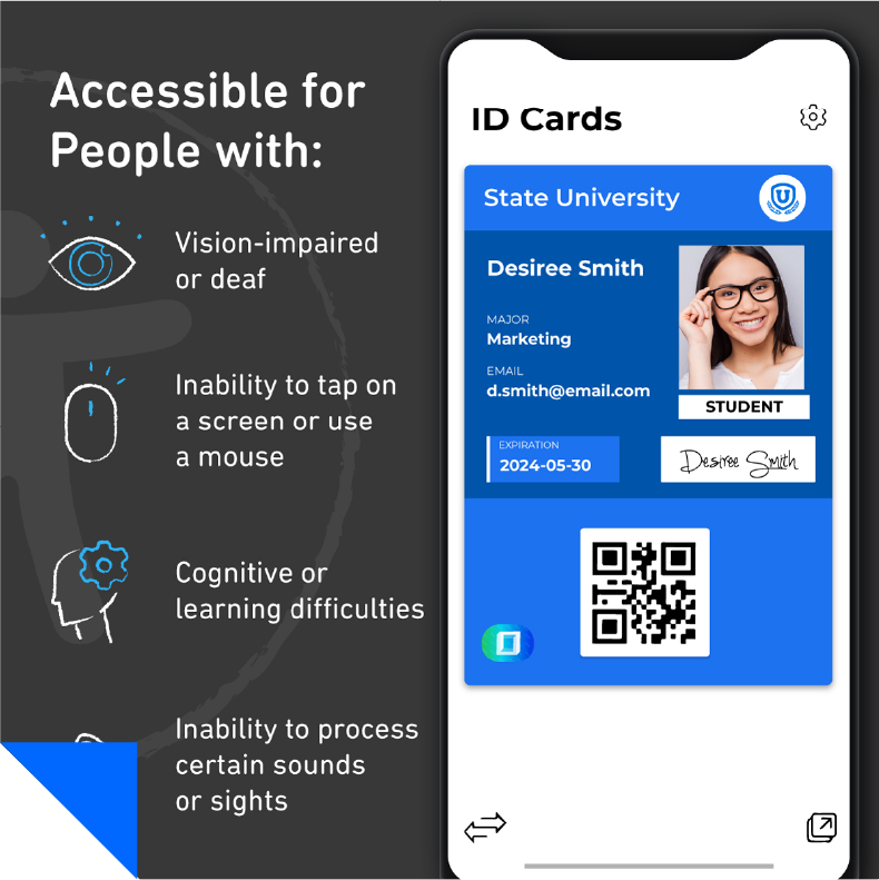 mobile accessibility feature